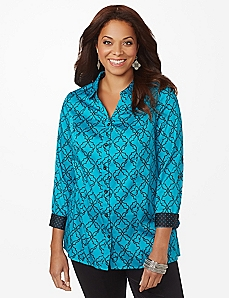 Sateen Intrigue Blouse linked
