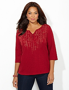Garland Henley Top
