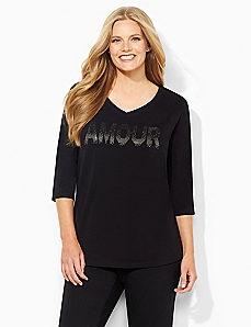 Shimmer Amour Tee