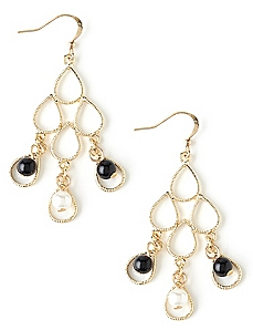 Stacked Chandelier Earrings