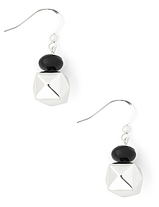 Cubed Art Deco Earrings