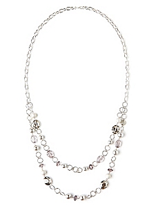 Linked Row Necklace