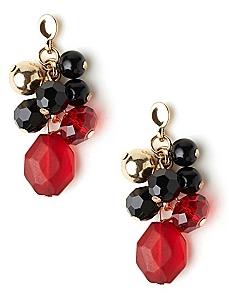 Dimpled Cluster Earrings