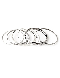 Sleek Six Bangles