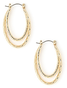 Intermixing Oval Hoops