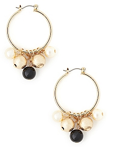 Midnight Shine Cluster Earrings