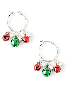 With Bells On Earrings