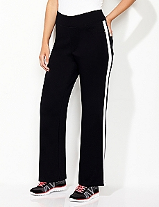 Slim Stripe Active Pant