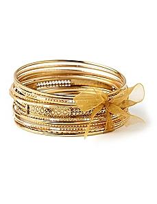 Gold Goddess Bangles