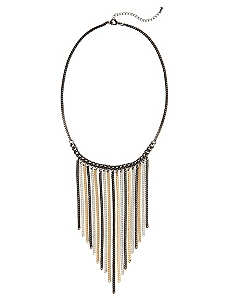 Tassel 3-Tone Necklace