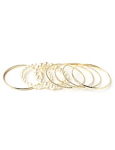 Arabella Bangle Set