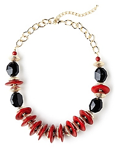 Saucer Statement Necklace
