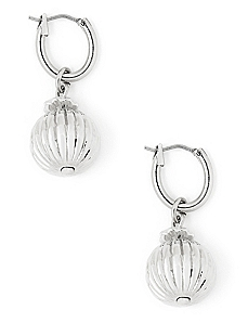 Metallic Ornament Earrings