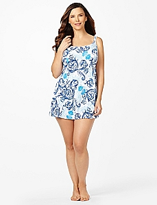 Swept Up Swimdress