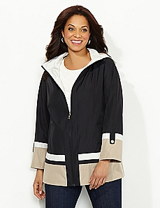 Neutral Colorblock Jacket