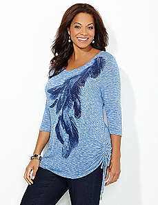 Free Feathered Tunic