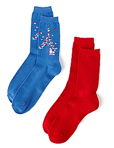 City Of Love 2-Pack Socks