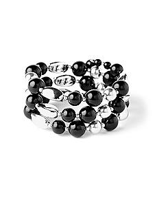 Coil Bead Bracelet