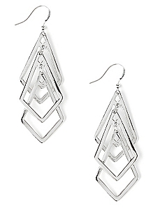 Geo Marcel Earrings