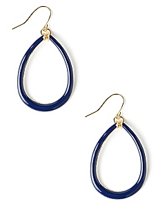 Teardrop Outline Earrings