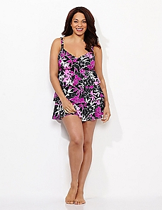 Firelight Floral Swimdress