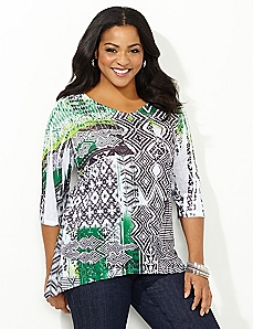Graphic Arts Hi-Lo Top