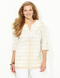 Splash Stripe Top
