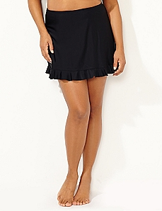 Ruffle Swim Skirt