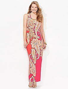 Sunset Paisley Maxi