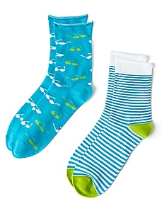 Stripes & Shades 2-Pack Socks