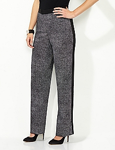 Tuxedo-Stripe Soft Pant