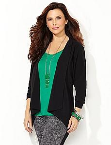 Cascade Knit Blazer