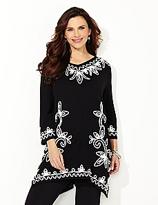 Eclectic Embroidery Tunic