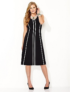 Slim Line Shift Dress
