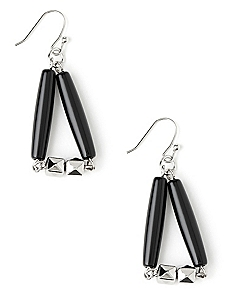 Cube & Triangle Earrings