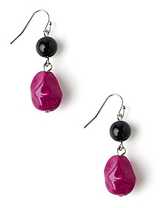 Crackle Color Earrings