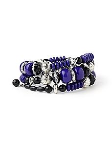 Etched Coil Bracelet