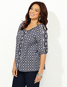 Geo Peasant Top