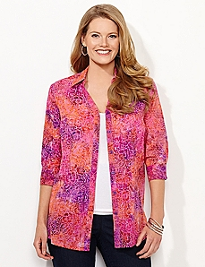 Sunset Floral Tunic