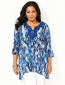 Whirlwind Pleated Top