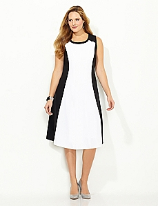 Hourglass Colorblock Dress