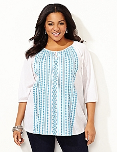 Fresh Air Peasant Top