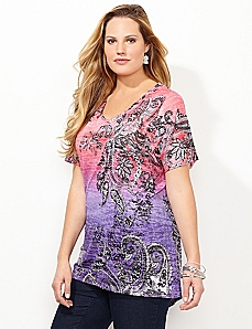 Paisley Tapestry Top