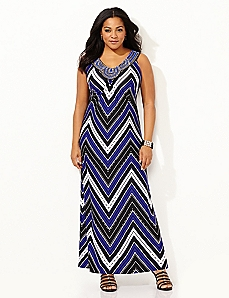 Dotted Line Maxi