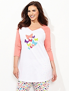 Butterfly Sleep Tunic