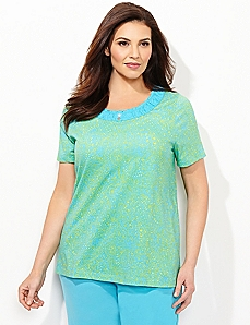 Paisley Dream Sleep Tee
