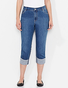Criss-Cross Capri
