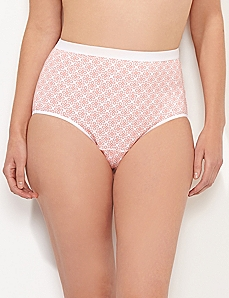 White Eyelet Cotton Full Brief