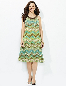 Between The Palms Dress
