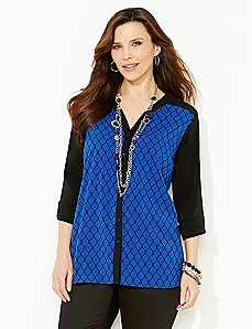 Pure Symmetry Blouse